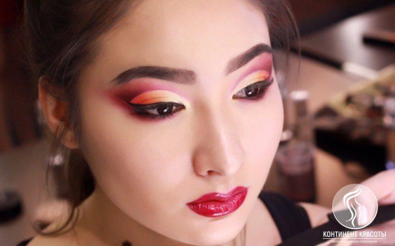 Вечерний макияж от «Континента красоты»!