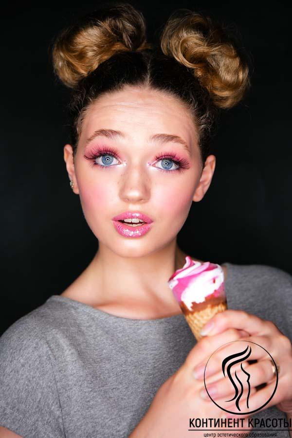 макияж и мороженое